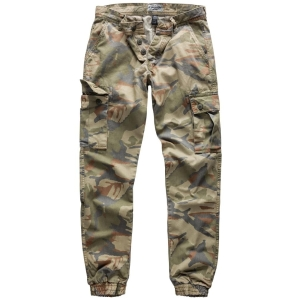 SURPLUS Nohavice BAD BOYS 4-COLOR CAMO